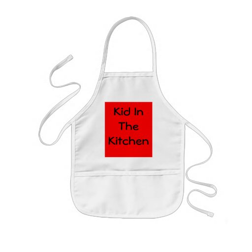 Kid In The Kitchen Apron