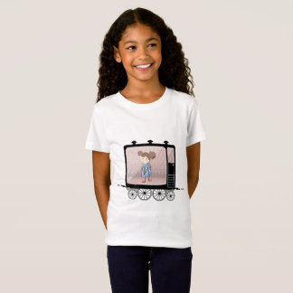 Kid in the railway carriage T-Shirt
