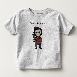 Kid Legends Young Edgar Allen Poe Toddler T-Shirt