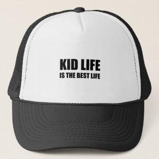 Kid Life Best Life Trucker Hat