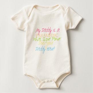 kid paramedic baby bodysuit