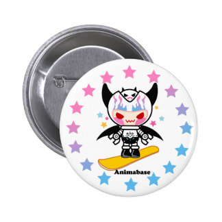 Kid robot style cute button