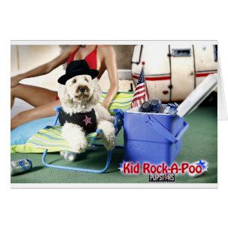 Kid Rock-A-Poo Card