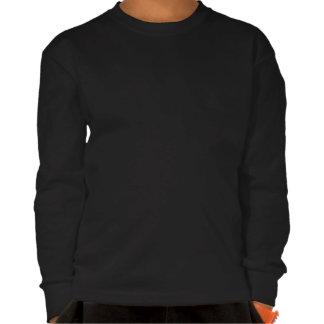 Kid s Husky T-Shirt Long Sleeve Sled Dog Kid Shirt
