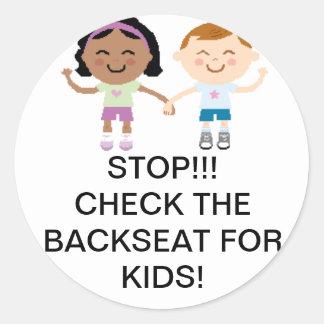 Kid Safety Car Sticker