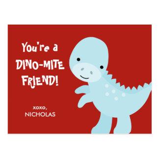 Kid Valentine's Day Card - Dino-mite Friend