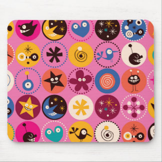 Kid World - PInk Mouse Pad
