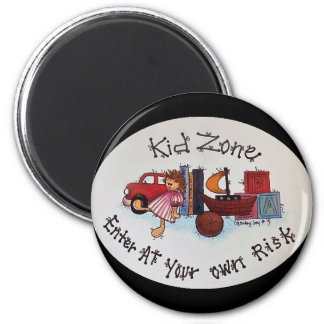 Kid Zone Magnet