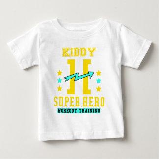 Kidd super hero workout training baby T-Shirt