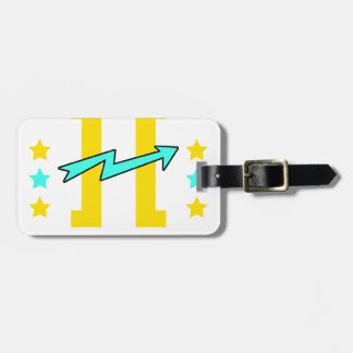 Kidd super hero workout training luggage tag