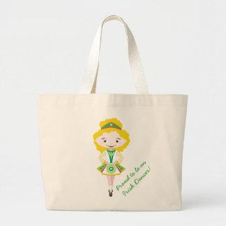 KIDLETS irish dancer dancing blonde shoe bag