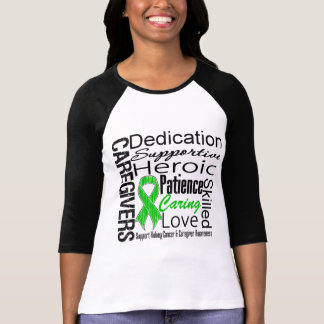 Kidney Cancer Caregivers Collage T Shirts