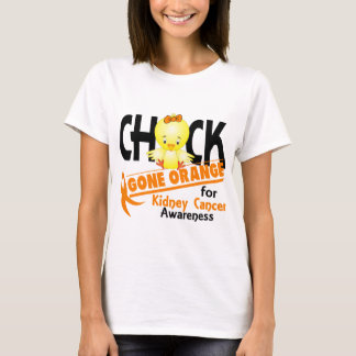 Kidney Cancer Chick Gone Orange 2 T-Shirt