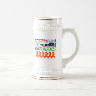 Kidney Cancer Inspirational Words 2 Mugs