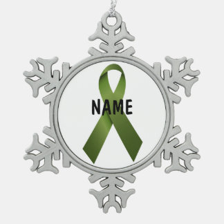 Kidney Cancer Memorial Ornament