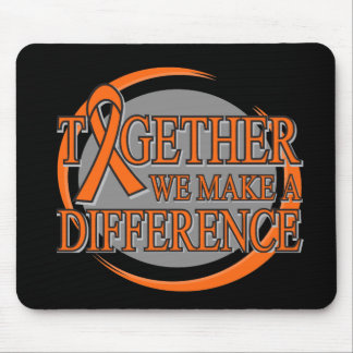 Kidney Cancer Together We Make A Difference v2 Mouse Pad