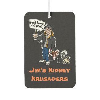 Kidney Krusader Car Freshener