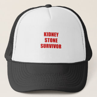 Kidney Stone Survivor Trucker Hat