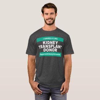 Kidney Transplant Donor - Dark Color T-Shirt