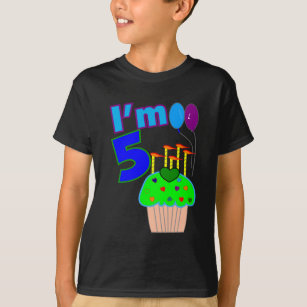 Kids 5 Year Old Birthday Shirts And Gifts