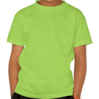 kids' A initial t-shirt