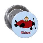 Kids Aeroplane Favour Button