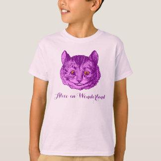 """Kid's """"Alice in Wonderland"""" Cheshire Cat T-Shirt"""
