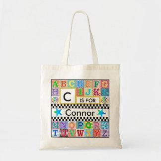 Kids Alphabet Art School Blue Star