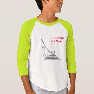 KIDS' AMERICAN APPAREL 3/4 SLEEVE T-SHIRT- STEPS T-Shirt