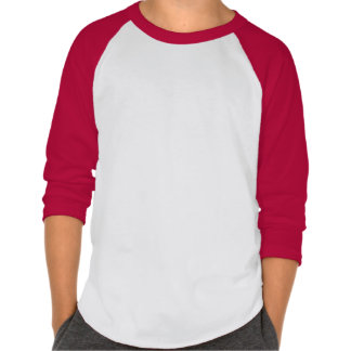 Kids' American Apparel Poly-Cotton 3/4 Sleeve Rag Tshirts