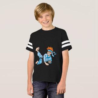 Kids' American Football Shirt, with karate kid T-Shirt