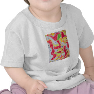 Kids apparel with abstract designs t shirts