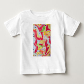 Kids apparel with abstract designs tshirt