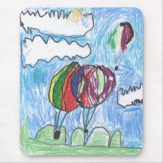 Kids art mouse pad