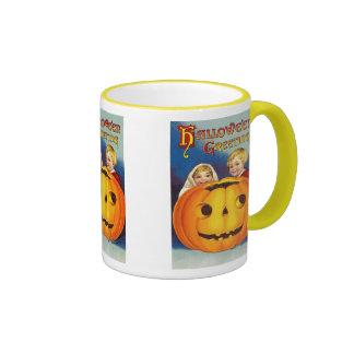Kids at Halloween Mug - Great Gift Idea