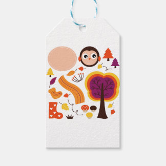 Kids Autumn edition : Product designs Gift Tags