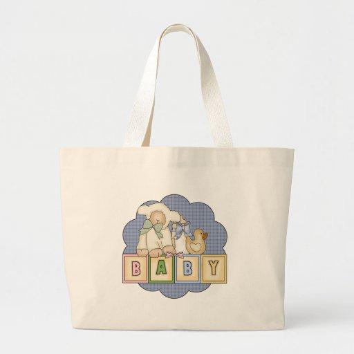 Kids Baby Blocks T Shirts and Kids Gifts Tote Bag