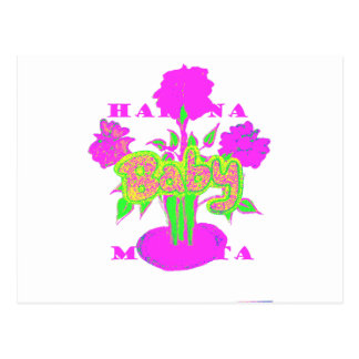 kids Baby Hakuna Matata.png Postcard