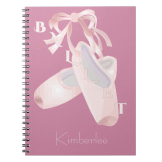 Kids Ballet Personalized Note Book