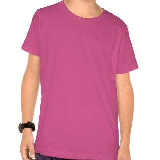 Kids' Basic American Apparel T-Shirt FUCHIA