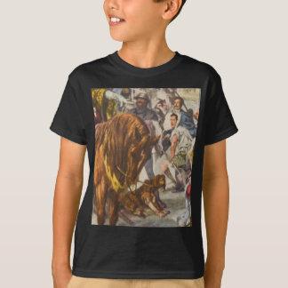 Kids' Basic Hanes tagless ComfortSoft T-Shirt med.