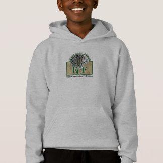 Kids Basic Hooded Sweatshirt