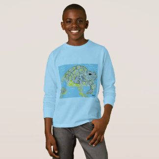 Kids' Basic Long Sleeve T-Shirt Sea Turtle's