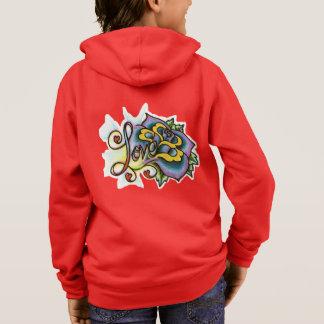 Kids' Basic Zip Hoodie Inspirational YACF