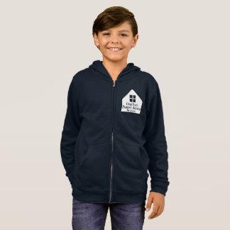 Kids' Basic Zip Hoodie - Navy