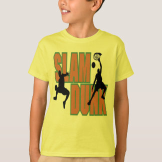 Kids Basketball Slam Dunk T-shirt