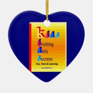 KIDS BB.png Ceramic Heart Decoration
