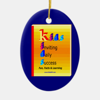 KIDS BB.png Ceramic Oval Decoration