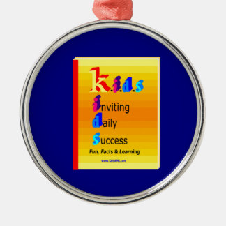KIDS BB.png Silver-Colored Round Decoration