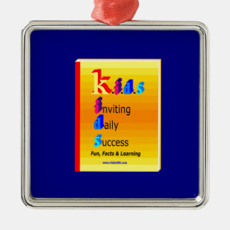 KIDS BB.png Silver-Colored Square Decoration